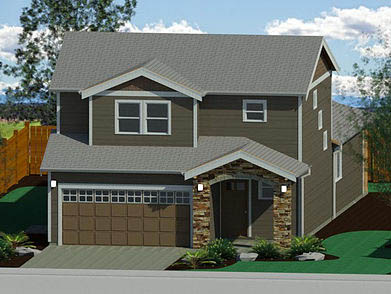 New Custom Homes by Radius Design in Bend Oregon and New Braunfels Texas