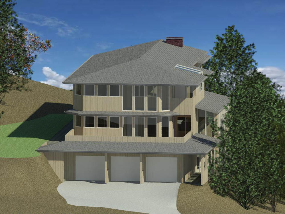 New Custom Home Design by Radius Design in Bend Oregon and New Braunfels Texas