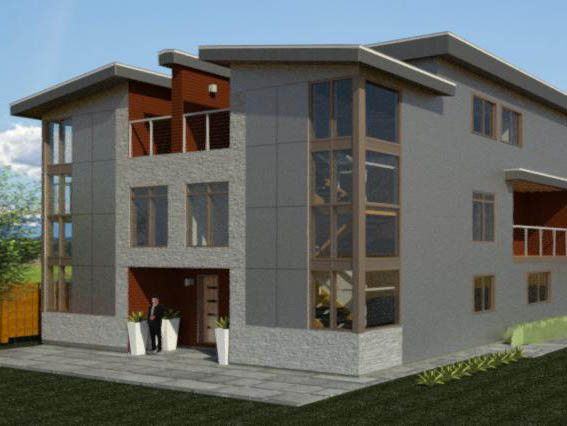 Multifamily design by Radius Design in Bend Oregon and New Braunfels Texas