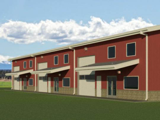 Commercial Building Design by Radius Design in Bend Oregon and New Braunfels Texas